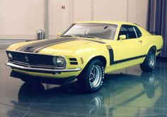 Boss 302 Mustang: When I was 16 I wanted this car more than anything else. Ford Mustang Shelby Cobra, Mustang Boss 302, My Dream Car, Dream Cars, Sweet Cars, Hot Cars, Motor Car, Classic Cars, Bike