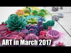 Art in March 2017 // Artist Vlog and Advice