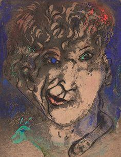 Marc Chagall Self Portrait | Portrait of Marc Chagall - Marevna ...