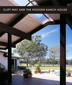 684bf8ee4786 Ranch house in Australia by Cliff May... Cliff May