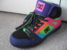 colorful dc shoes