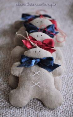 la Tana del Coniglio: Gingerbread men, hearts and Christmas trees