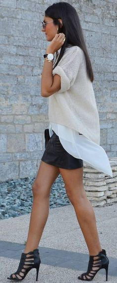 June Sixty Five Neutral And Pastel Layering Fall Streetstyle Inspo
