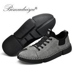 New Men Casual Breathable Soft Handmade Leather Shoes Adult Driving Shoes Comfortable Men's Outdoor Sneakers Size Mens Brown Casual Shoes, Casual Sneakers, Sneakers Fashion, Men Casual, Men Sneakers, Handmade Leather Shoes, Leather Men, Flat Shoes Outfit, Men's Shoes