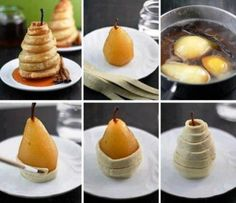 Pears - food art