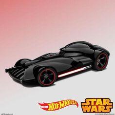 Hot Wheels Star Wars : Dark Vador