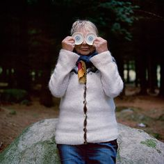 """""""Eyes as Big as Plates"""" photo series by Riitta Ikonen and Karoline Hjorth. Inspired by Norwegian folklore."""