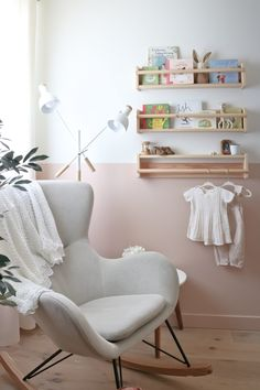 baby girl nursery room ideas 318840848619747280 - The Nursery Reveal – Baby Girl E's New Room – Kristina Lynne Source by Baby Room Design, Baby Room Decor, Nursery Room, Room Baby, Nursery Design, Baby Room Girls, Girl Nursery Decor, Ikea Baby Room, Nursery Chairs