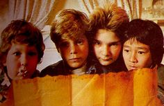The Goonies - This movie is a classic!  I love that my kids love it, too!