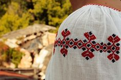 Red Traditional Hearts! Our Love, Romania, Beautiful People, Hearts, Traditional, Blouse, Red, How To Make, Blouses