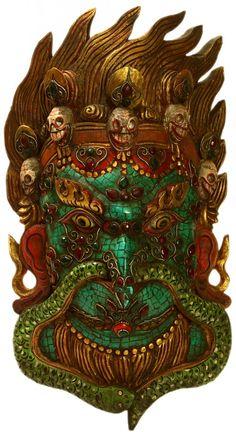 Garuda with gems