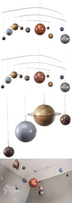 Globes 36023: Planets Mobile, Hanging Solar System Mobile, 3D Authentic Models, Kids, Babies -> BUY IT NOW ONLY: $132.61 on eBay!