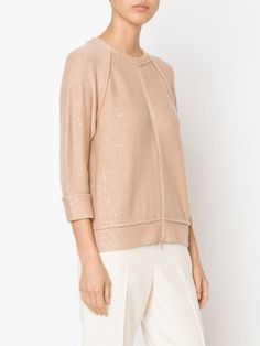 Brunello Cucinelli Sequins Embroidered Cardigan - Marissa Collections - Farfetch.com
