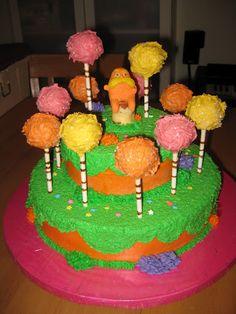 Ocean's Lorax Birthday Cake