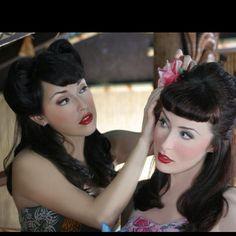 Love 40s pin up hairstyles!