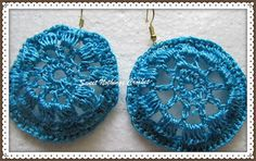 Sweet Nothings Crochet: TINY DOILEY-LIKE EAR RING
