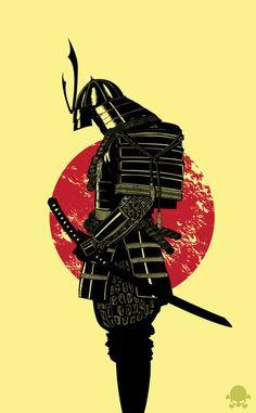 The Headless Samurai Art Print Gerrel Saunders