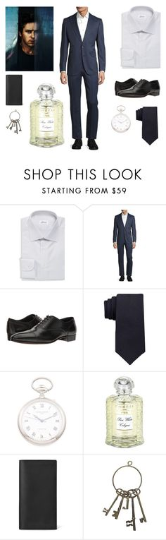 """""""Lucifer//Bump"""" by charlottegryffindor ❤ liked on Polyvore featuring Brioni, Robert Graham, Gravati, Calvin Klein, Creed, men's fashion and menswear"""