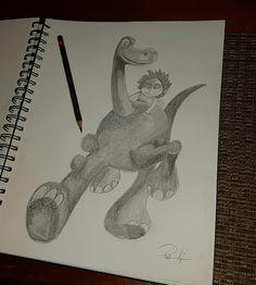 Dibujo de #dinosaurio #lapiz #draw