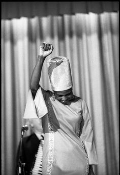 """""""I don't sing about politics; I sing the truth.""""Miriam Make. She was an inspiring, radiant and beautiful human being. A towering presence in music, politics and history; she was also married to Stokely Carmichael (Kwame Ture). Legendary."""""""