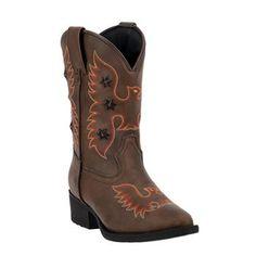 Laredo Children's Gadget Light Up Eagle Western Boots