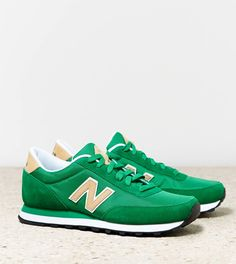 New Balance 501 Sneaker.  Put your green on from head to toe.  ~~ thepromenadebolingbrook.com