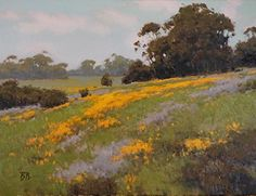 Springtime Memories by Brian Blood Oil ~ 18 x 24