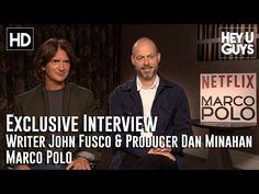 Stefan Pape from HeyUGuys interviews Writer John Fusco, Producer Dan Minahan for their new Netflix show Marco Polo. New Netflix, Shows On Netflix, Marco Polo, Dan, Writer, Interview, Guys, Movie Posters, Profile