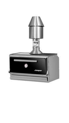 Modelo HJX 38, para 30 comensales. Modelo de sobremesa de 71cm de ancho x 42 cm de fondo. Ideal para uso doméstico. HJX 38 model, for 30 guest. Worktop oven and grill, 71cm wide x 42cm deep. A nice solution for kitchen at home.