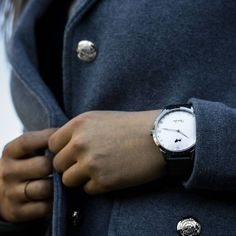 Classic Stainless Steel by Oliwer Lion  A perfect gift for your wrist Man & Women ____________________ www.klocktrend.se