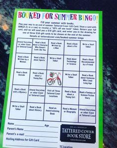 #Reading BINGO This Summer & Throughout The Year! #tlchat #futurereadylibs #ISTELib