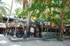 Foxy's on Jost Van Dyke. The BVI's version of Woody's :) Oh yea I'v been there!