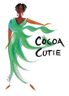 Cocoa Cutie Magnet by Cidne Wallace