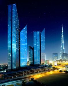 Central Park Towers - Dubai