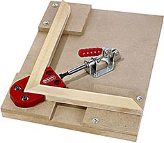 Woodpeckers Miter Clamp Jig in a fixture from Carbide Processors