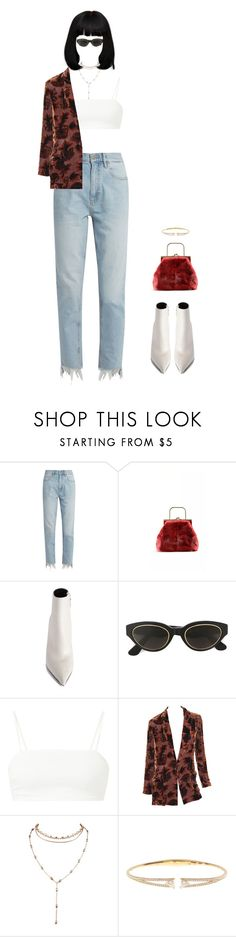 """""""round and round"""" by andy993011 ❤ liked on Polyvore featuring M.i.h Jeans, Balenciaga, RetroSuperFuture, Yohji Yamamoto and Nadri"""