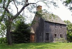 Hoxie House, Sandwich, MA.  Built in 1637, this is believed to be the oldest house on Cape Cod.