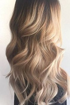 Blonde hair color for long hair