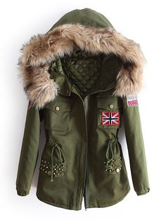 Wesley Hoodie Parka Cool, casual days call for a down jacket that ...