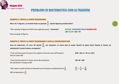 problemi di matematica con le frazioni