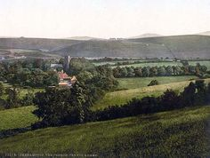 new to site Okehampton, Church, Yes-Tor and Beacon, England Retro Pictures, Dartmoor, A4 Poster, Posters, Library Of Congress, Vintage Postcards, Adventure, Fine Art, World