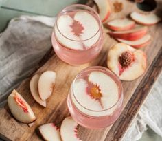 Celebrate summer with this White Peach Gin Fizz.