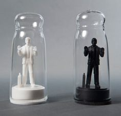 "Lol - ""Drowning in Debt"" Salt & Pepper Shakers by Sebastian Errazuriz"