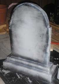The Ten Minute Tombstone - The Basic Prop in any Halloween Yard