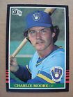 For Sale: 1985 Charlie Moore Donruss Baseball Card # 351 Milwaukee Brewers - See More At http://sprtz.us/BrewersEBay