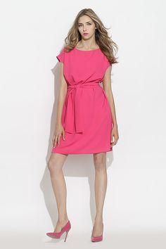 #furelle #springsummer2016 #summer #SS16 #fashion #newarrivals #pink #silesiastyle #newcollection #musthave #dress #pinkdress #romantic #kneelenght #woman #highheels #elegant #polishdesigner