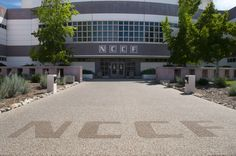 Front entrance to NCCF