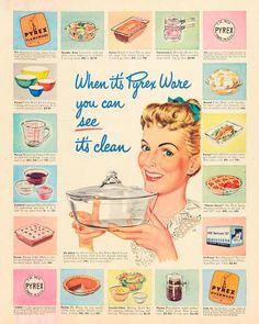 Vintage Kitchenware, Vintage Dishes, Vintage Glassware, Vintage Pyrex, Vintage Baking, Vintage Dinnerware, Retro Ads, Vintage Advertisements, Vintage Ads