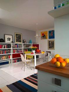"""Margie w """"Werandzie"""" ! Couch, Corner Desk, Shelves, Interior Design, Storage, Furniture, Home Decor, Classroom, Creativity"""