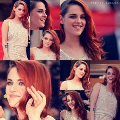 """Collage of Kristen Stewart at the """"Clouds of Sils Maria"""" Premiere during the 67th Annual Cannes Film Festival on May 23, 2014."""